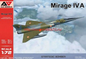 AAM7204   Mirage IV A strategic bomber (thumb34544)