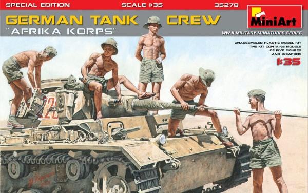 "MA35278   German tank crew ""Afrika Korps"" (thumb34415)"