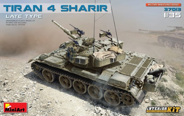 MA37013  Tiran 4 Sharir, late type. Interior kit (thumb34431)