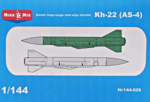 MM144-026   Kh-22 (AS-4) Soviet long-range anti-ship missile (thumb34383)