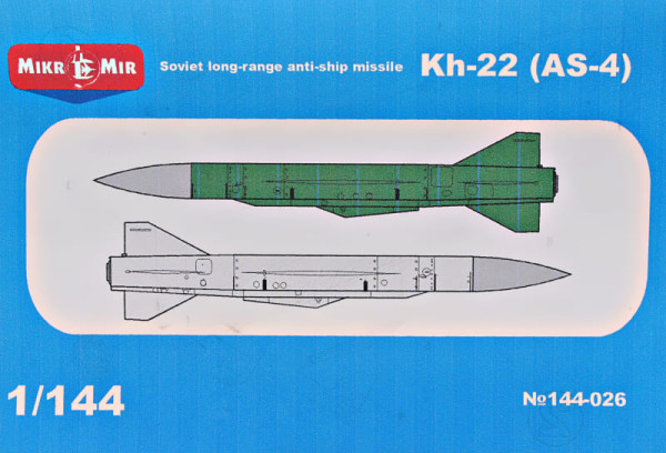 MM144-026   Kh-22 (AS-4) Soviet long-range anti-ship missile (thumb34383)