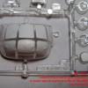 MS72003 - окрасочные маски для переплета кабины и колес шасси вертолета Ми-8Т/Ми-8МТ (Звезда) (attach4 38449)
