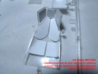 MS72005 — окрасочные маски для переплета кабины и колес шасси вертолета Ми-24А (Звезда) (attach3 38466)