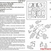 MS72015 - окрасочные маски для переплета кабины и колес шасси вертолета HH-60 J/H (Italeri) (attach1 38579)