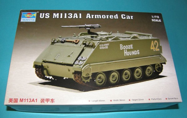 Trumpeter07238   US M113A1 Armoured Car (thumb30924)
