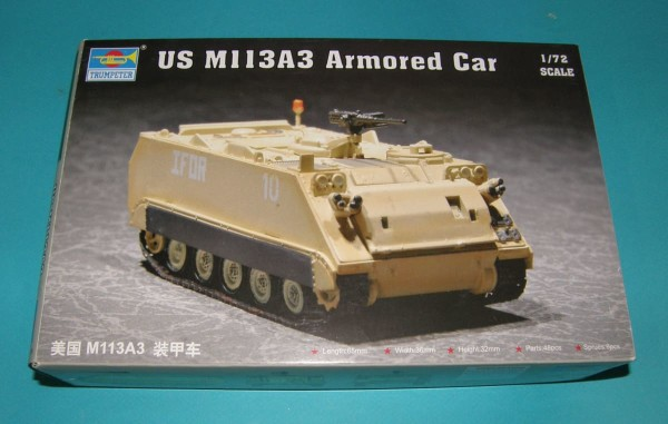Trumpeter07240   US M113A3 Armored  Car (thumb30942)