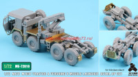 TetraME-72010   1/72 NATO M1001 Tractor & Pershing II Missile Launcher Detail up set  for Modelcollect (attach5 34054)
