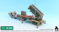 TetraME-72008   1/72 US HEMTT M983 Tractor w/Patriot PAC-3 Launching Station for Modelcollect/Aoshima (attach6 32221)