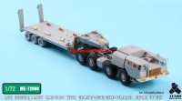 TetraME-72009   1/72 Russian MAZ-7410 w/ChMZAP-9990 Semi-Trailer  for Modelcollect (attach8 32230)
