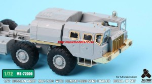 TetraME-72009   1/72 Russian MAZ-7410 w/ChMZAP-9990 Semi-Trailer  for Modelcollect (attach2 32230)