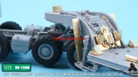 TetraME-72009   1/72 Russian MAZ-7410 w/ChMZAP-9990 Semi-Trailer  for Modelcollect (attach4 32230)