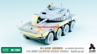 TetraME-72005   1/72 JGSDF MANEUVER COMBAT VEHICLE (Proto Type) Detail up set for Aoshima (attach2 32188)