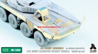 TetraME-72005   1/72 JGSDF MANEUVER COMBAT VEHICLE (Proto Type) Detail up set for Aoshima (attach4 32188)