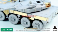 TetraME-72005   1/72 JGSDF MANEUVER COMBAT VEHICLE (Proto Type) Detail up set for Aoshima (attach7 32188)