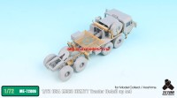 TetraME-72006   1/72 USA M983 HEMTT Tractor Detail up set for Model Collect / Aoshima (attach7 32199)