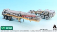 TetraME-72007   1/72 USA M983 Tractor w/Pershing II Missile Erector Launcher Detail up set for Model collect (attach1 32210)