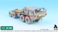 TetraME-72007   1/72 USA M983 Tractor w/Pershing II Missile Erector Launcher Detail up set for Model collect (attach4 32210)