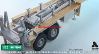 TetraME-72007   1/72 USA M983 Tractor w/Pershing II Missile Erector Launcher Detail up set for Model collect (attach8 32210)