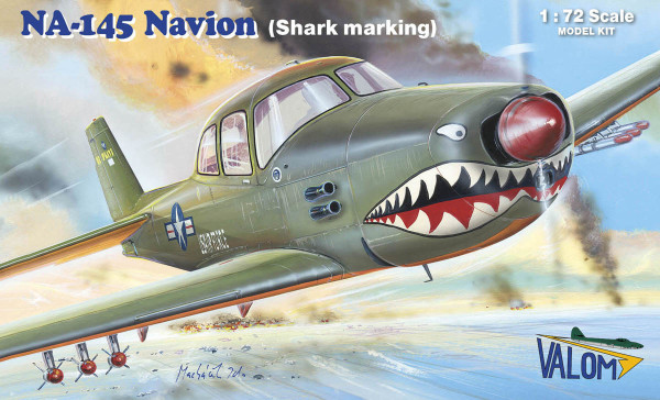 VM72135   N.A. NA-145 Navion (shark marking) (thumb31334)