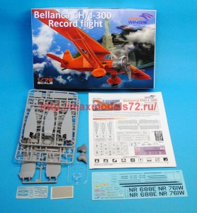 DW72001   Bellanca CH/J-300 Record flight (attach1 34359)