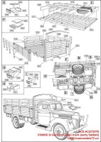 ACE72576   V3000S 3t German Cargo truck (early flatbed) (attach10 38941)