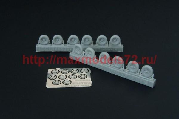 BRL144139   F4U Corsair / F6F Hellcat wheels (five types) (thumb35584)