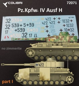 CD72071   Pz.Kpfw. IV Ausf. Н   Part I (attach2 32433)