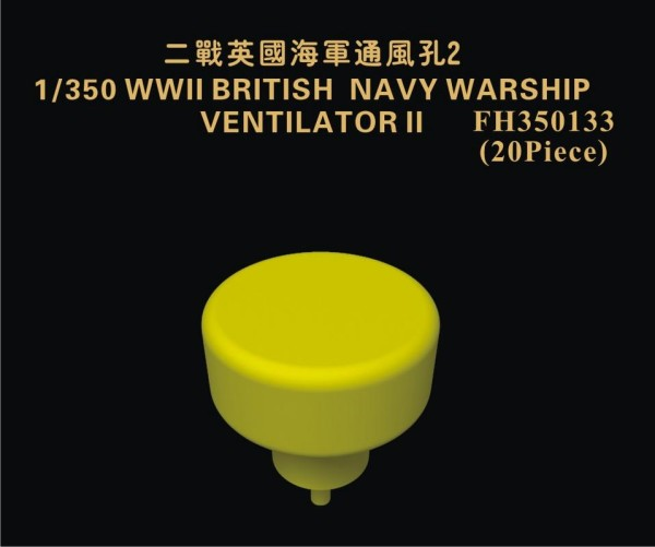 FH350133   WW II British Navy Warship Ventilator II (thumb32911)