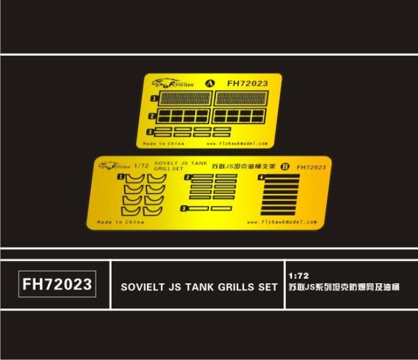 FH72023   Soviet JS Tank Grills Set (thumb32325)