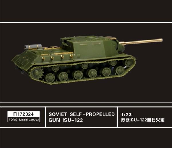 FH72024   Soviet Self-Propelled Gun ISU-122(For S-Model 720063) (thumb32327)