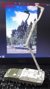 """JK72002   Чешская плавающая гусеничная боевая разведывательная машина BVP-1PPK """"Snezka"""" (attach3 33590)"""
