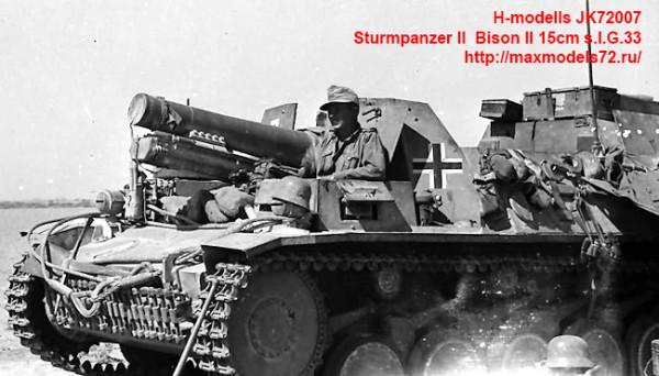 JK72007   Sturmpanzer II  Bison II 15cm s.I.G.33 (thumb39139)