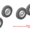 OKBS72280   Wheels for Mercedes G4, Continental GELANDE, early rim (thumb34262)