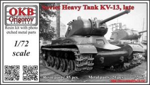 OKBV72067   Soviet Heavy Tank KV-13, late (thumb31920)