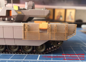 Penf72096 1:72 Набор деталировки Т-14 Армата (ФТД)   1:72 PE detailing T-14 ARMATA (attach4 34092)