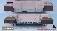 TetraMA-35012   1/35 Russian T-80B Sids Skirts set for Trumpeter (attach3 33491)