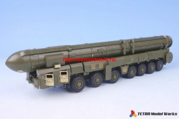 TetraME-72001   1/72 Russian ICBM Launcher TOPOL Detail up set for ZVEZDA (thumb32179)