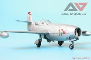 "AAM4802   Yak-23 DC ""Dubla Comanda"" training fighter (attach1 32542)"
