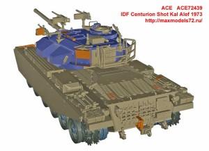 ACE72439   IDF Centurion Shot Kal Alef 1973 (attach2 33115)