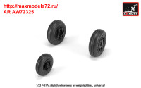 AR AW72325   1/72 F-117A wheels w/ weighted tires (attach3 35805)