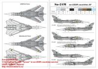 AR14702   1/144 Sukhoj Su-24M «Fencer» in ex-USSR countries service: USSR, Ukraine, Belarus» (attach5 35815)
