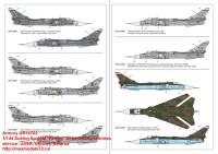 AR14702   1/144 Sukhoj Su-24M «Fencer» in ex-USSR countries service: USSR, Ukraine, Belarus» (attach6 35815)