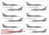 AR14702   1/144 Sukhoj Su-24M «Fencer» in ex-USSR countries service: USSR, Ukraine, Belarus» (attach7 35815)
