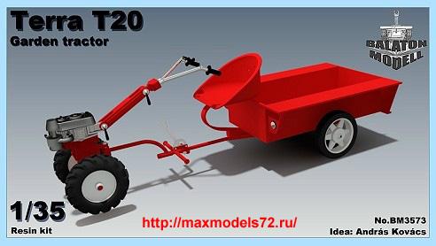 BM3573   Terra T20 garden tractor (thumb33811)
