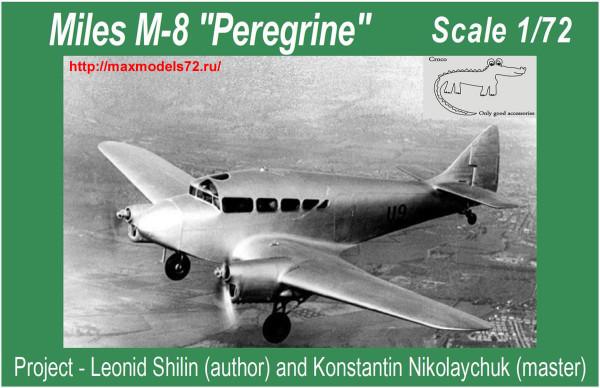Croco72006   Miles M-8 Peregrine (thumb33854)
