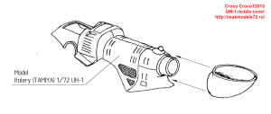 Croco72015   UH-1 nozzle cover (attach1 40060)