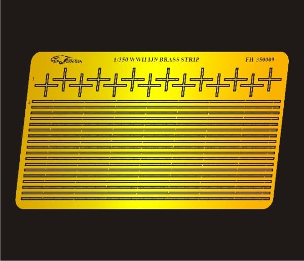 FH350009   WW II  IJN Brass Strip (thumb32769)