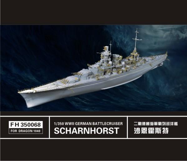 FH350068   WW II  German Battlecruiser Scharnhorst (For Dragon1040) (thumb32833)