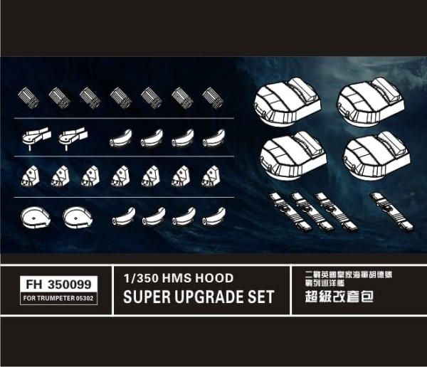 FH350099   HMS Hood  (This product must be used with FH350098)For Trumpeter (thumb32857)