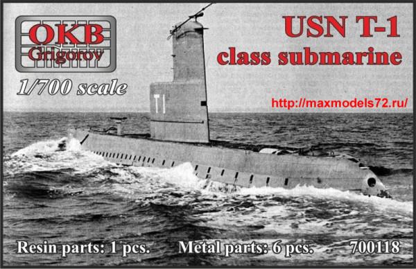 OKBN700118   USN T-1-class submarine (thumb38372)